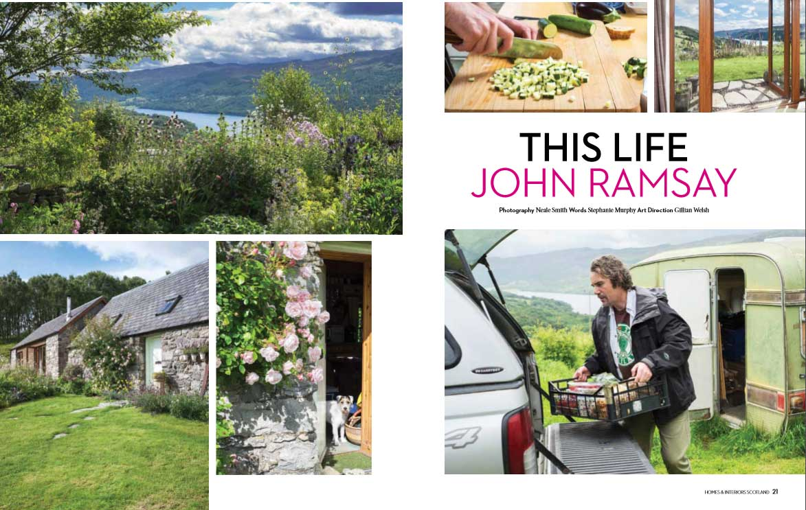 John Ramsay features in Homes and Interiors Scotland magazine.